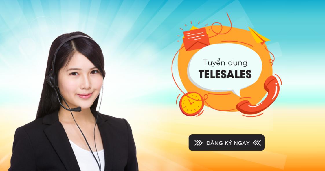 Tuyển dụng nhân viên gọi điện qua phần mềm Telesale