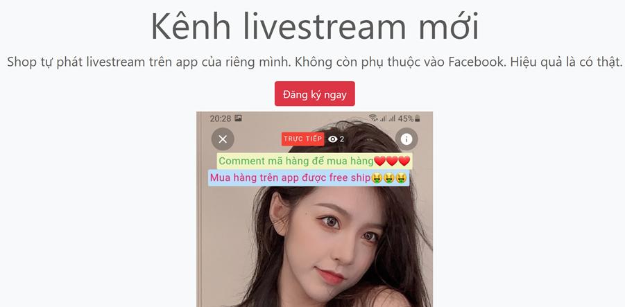 Video hướng dẫn xem live trên nền tảng bán hàng livestream shoplive.vn