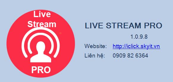 Hướng dẫn lấy bình luận, share phần mềm Live Stream Pro