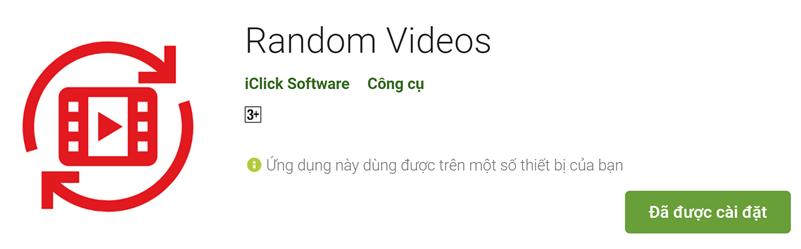 App tăng giờ xem, tăng view, random videos
