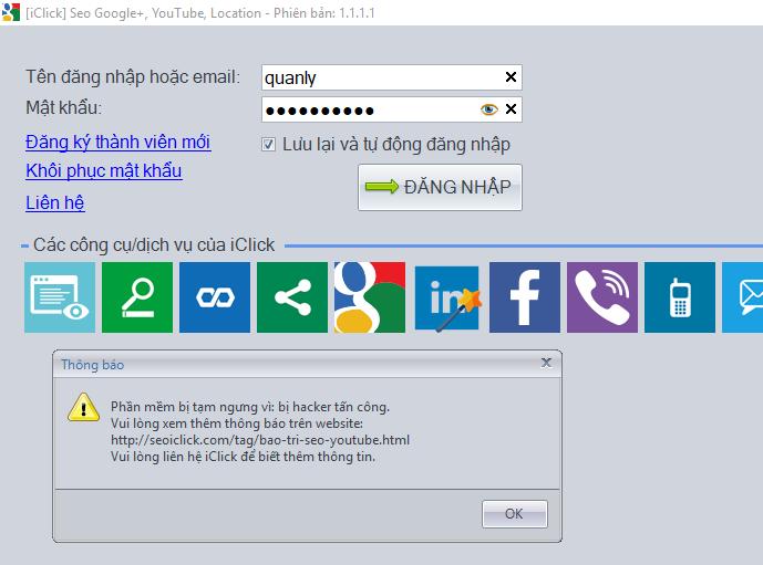 Bị mất tài khoản Gmail