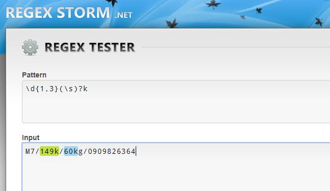 Biểu thức regex trong phần mềm livestream pro
