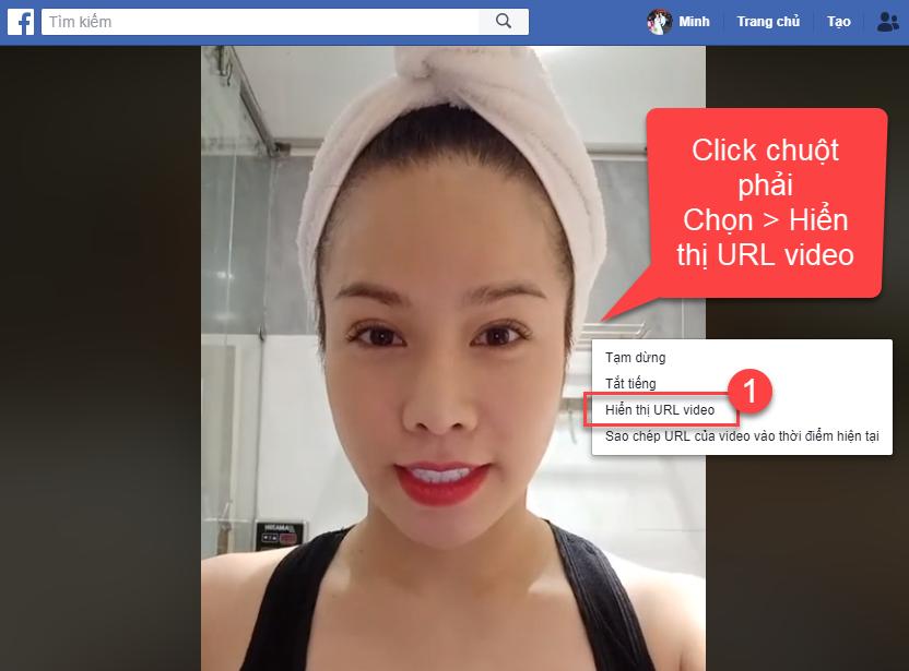 Cách lấy link video livestream trên Facebook