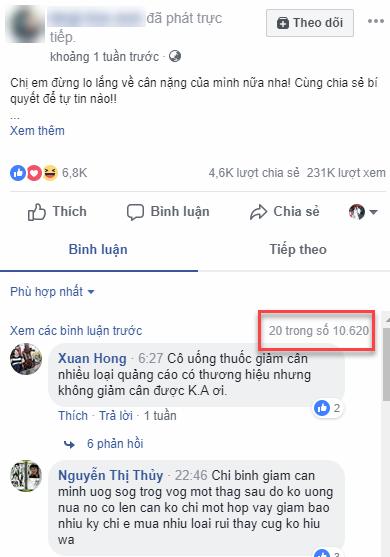 Cách xem tất cả bình luận trên facebook