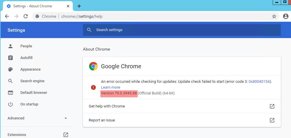 Hướng dẫn cài đặt Chrome phiên bản cũ - phiên bản 79