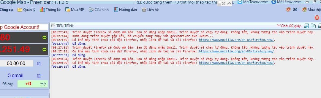 Cài đặt file chạy firefox