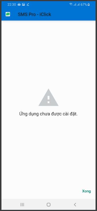 Hướng dẫn cài ứng dụng SMS Pro cho điện thoại Android từ file APK