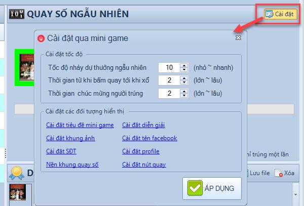Chơi mini game với phần mềm LiveStream Pro