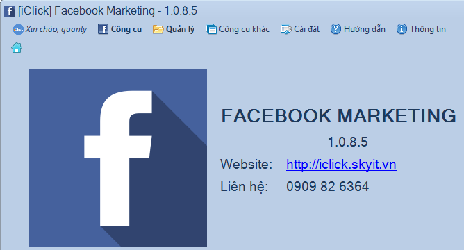 Phần mềm Facebook Marketing