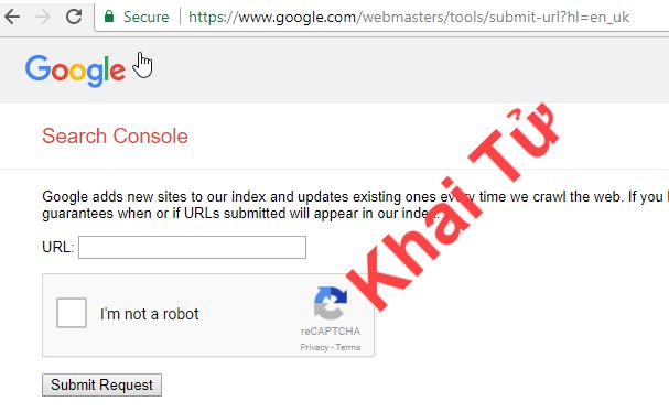 Google ngưng Submit URL kéo theo phần mềm Submit URL Tool ngưng hoạt động