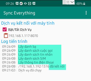 Kết nối phần mềm SMS Marketing với ứng dụng Sync Everything