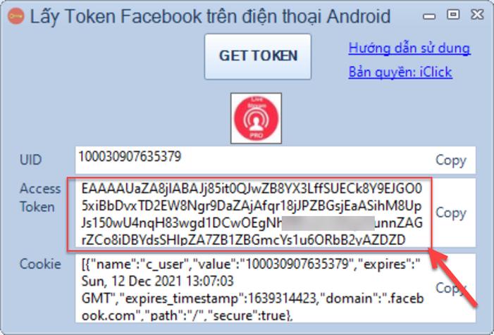 Lấy access token android trên giả lập LDPlayer