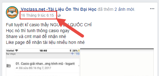 Lọc email từ bình luận facebook
