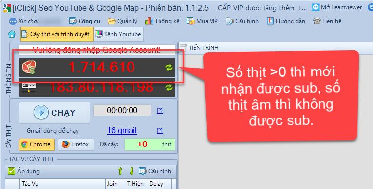 Cách tăng sub cho kênh với phần mềm SEO Youtube