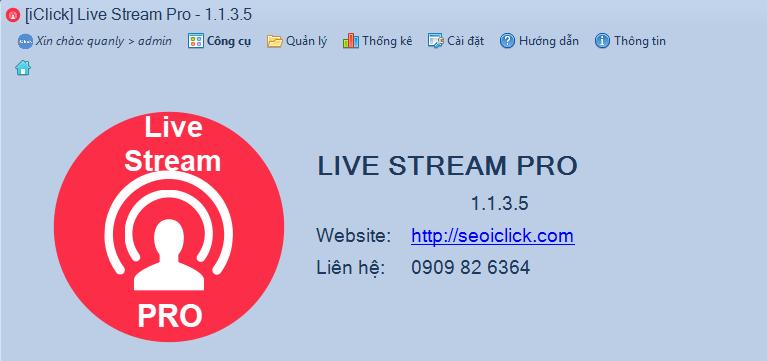 Nâng cấp phần mềm chốt đơn Livestream Pro