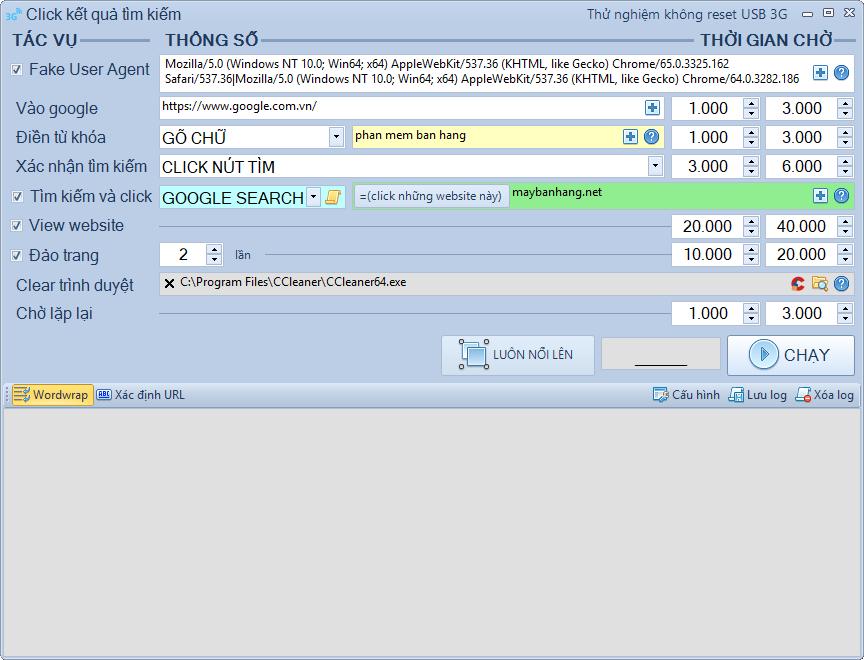 Nâng cấp phần mềm Reset USB 3G phiên bản 1.0.9.6