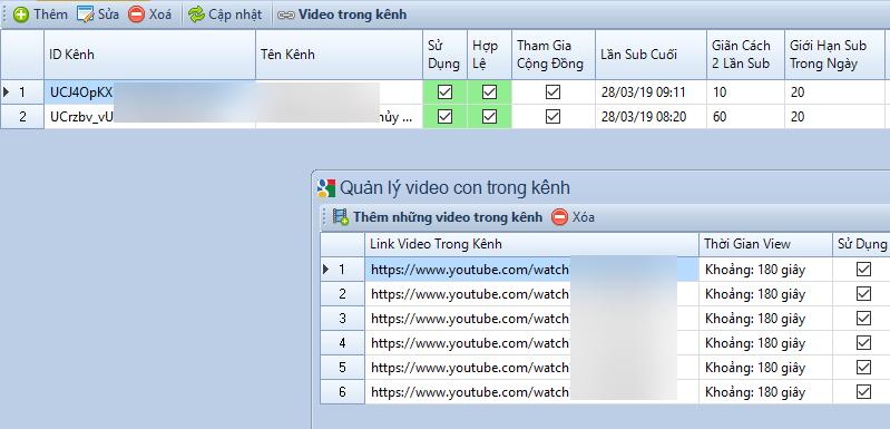 Nâng cấp phần mềm Seo Youtube và Google Maps 1.1.2.3