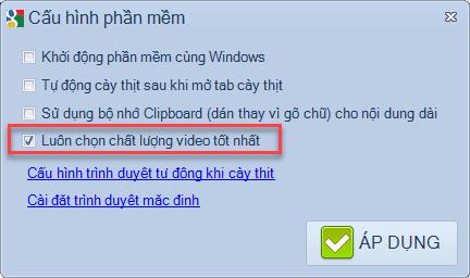 Nâng cấp phần mềm seo Youtube