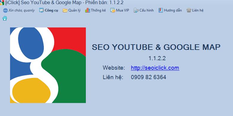 Nâng cấp phần mềm seo Youtube phiên bản 1.1.2.2