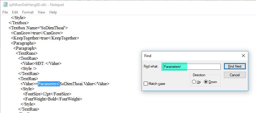 Nhãn đặt hàng trong phần mềm livestream pro
