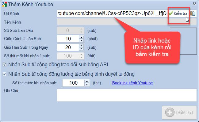 Phần mềm auto sub youtube