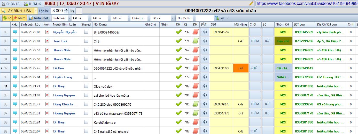 Phần mềm bán hàng livestream pro 1.1.3.9