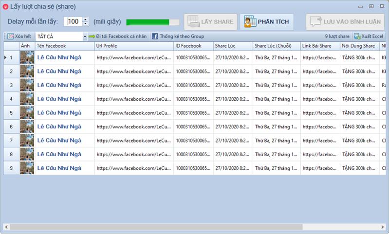 Phần mềm chốt đơn livestream pro phiên bản 1.1.7.4