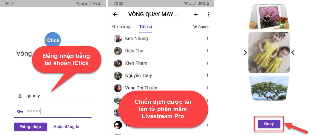 Phần mềm chốt đơn Livestream Pro