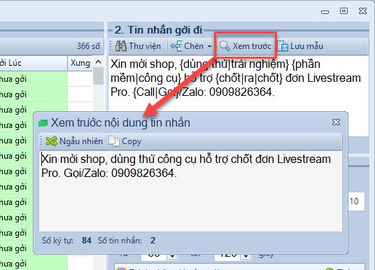 Phần mềm gửi tin nhắn hẹn giờ SMS Pro