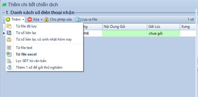 Phần mềm gửi tin nhắn SMS Pro