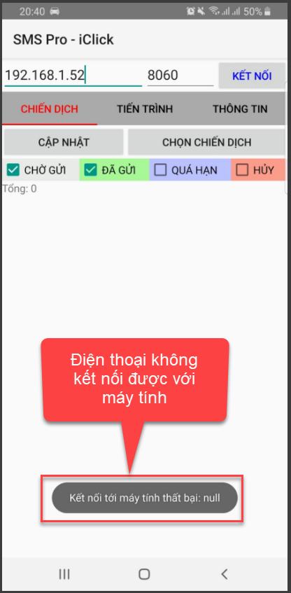 Phần mềm hẹn lịch gửi tin nhắn SMS Pro