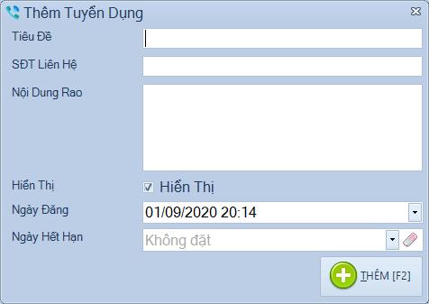 Phần mềm hỗ trợ telesale