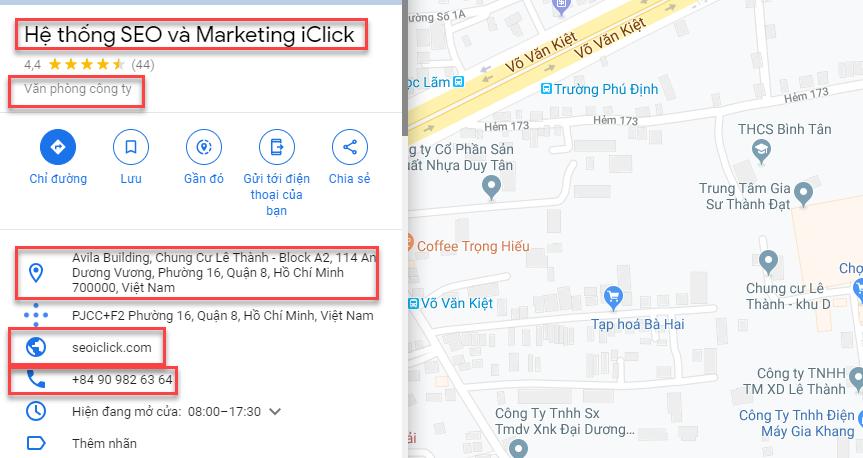 Phần mềm quét địa điểm trên GG Maps