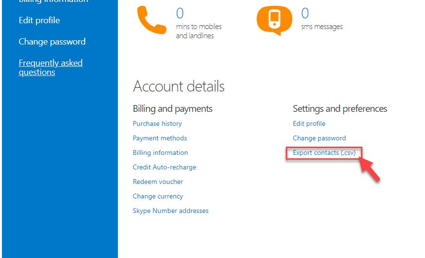 Đồng bộ danh bạ Skype vào phần mềm Skype Marketing thủ công