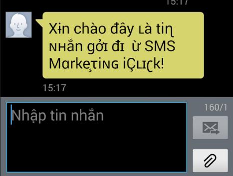 Sử dụng ký tự thay thế trong phần mềm SMS Marketing