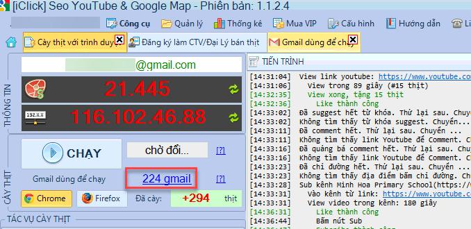 Chuyển thư mục lưu profile gmail
