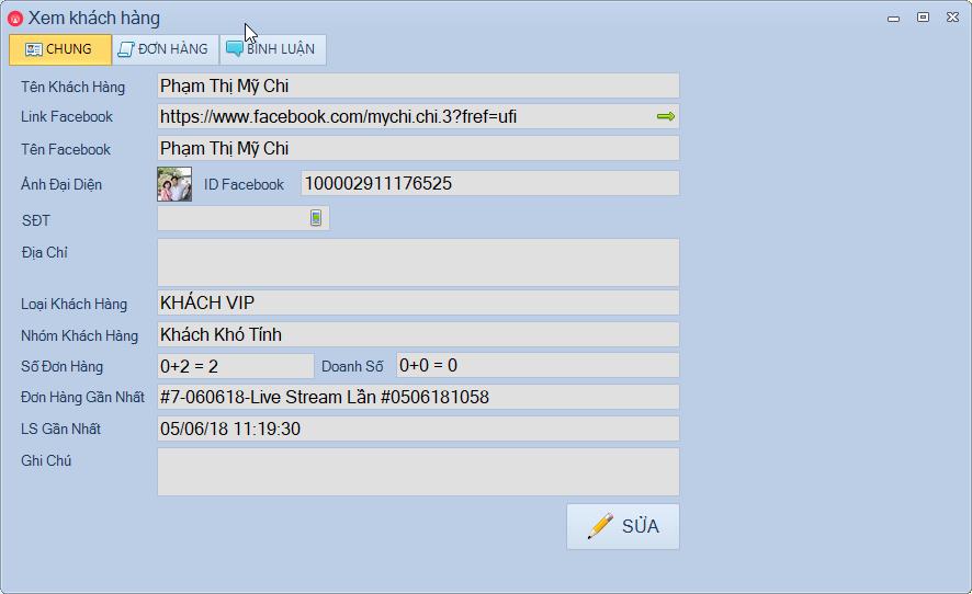 Phần mềm bán hàng live stream facebook