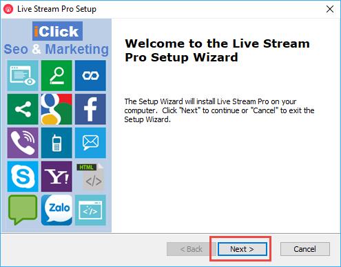 Phần mềm bán hàng Live Stream Pro
