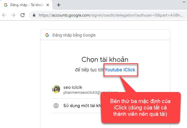 Tạo file xác thực json để kết nối API Youtube