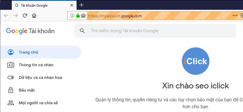Tạo hồ sơ cho firefox để khỏi đăng nhập Gmail