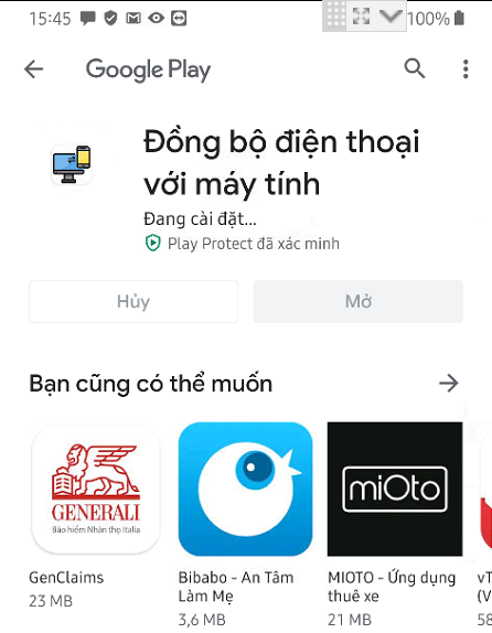 Ứng dụng Sycn Everything