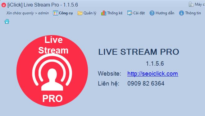 Update phần mềm chốt đơn livestream 1.1.5.6